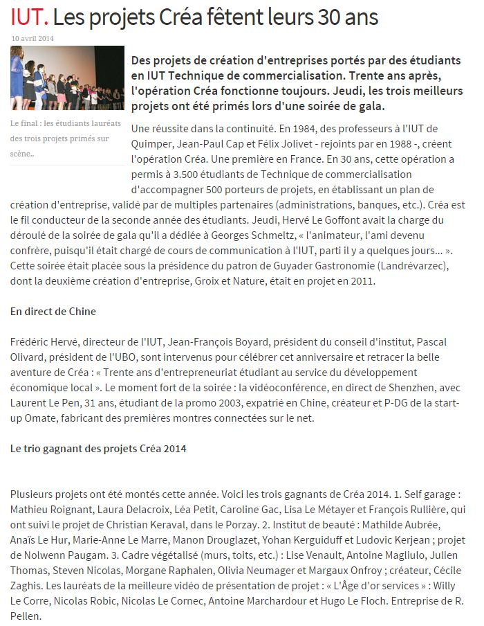 Article 10 avril 2014